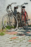 Pair of bicycles Stock Images