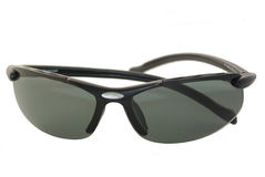 Pair of black sunglasses Stock Images