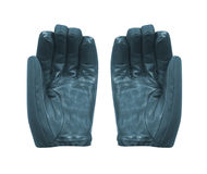 Pair of blue warm gloves Stock Image