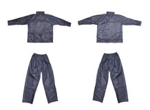 Pair of blue work wear. Stock Images