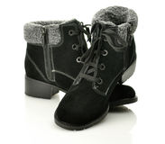 Pair of  boots Stock Images