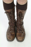 Pair of boots Royalty Free Stock Photo