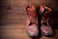 A pair of boots Royalty Free Stock Image