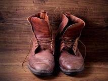 A pair of boots Stock Photos