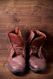 A pair of boots Royalty Free Stock Photo