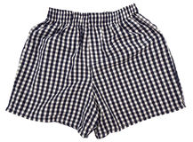 A pair of boxer shorts isolated Royalty Free Stock Image