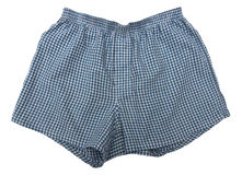 A pair of boxer shorts Royalty Free Stock Photo