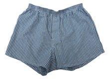 A pair of boxer shorts royalty free stock photo