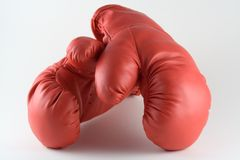 Pair of Boxing Gloves. Two boxing gloves Royalty Free Stock Image