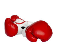 A pair of boxing gloves Royalty Free Stock Photography