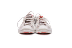 A pair of brand new running shoes Royalty Free Stock Image