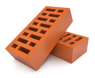 Pair of bricks Royalty Free Stock Photography