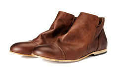 A Pair of Brown Boots Stock Images