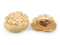 Pair of buns Royalty Free Stock Photography