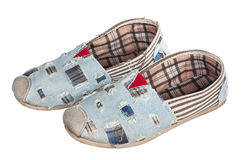 Pair of casual shoe Stock Photos