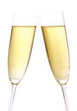 Pair of champagne glasses Royalty Free Stock Photos