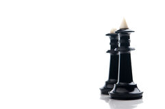 Pair chess pieces Royalty Free Stock Photography