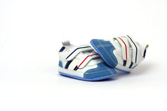 Pair of child's shoes Stock Images