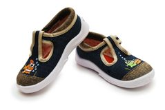 Pair of child shoes Stock Image