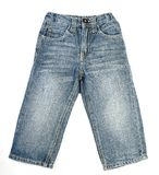 Pair of children's jeans Royalty Free Stock Photography