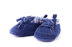 A pair of children's sports shoes Royalty Free Stock Images