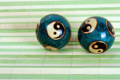 Pair chinese balls Stock Image