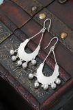 Pair of chinese earrings Stock Images