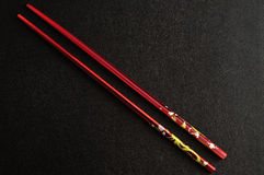 Pair of chop sticks Royalty Free Stock Photography