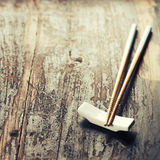 Pair of chopsticks Royalty Free Stock Photography