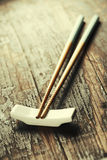 Pair of chopsticks Royalty Free Stock Image