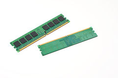 A pair of computer memory sticks Stock Photography