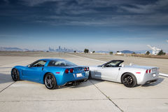 A Pair of  Corvette Royalty Free Stock Photos