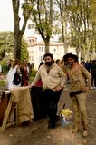 Bud Spencer and Terence Hill at Lucca Comics and Games 2017 Royalty Free Stock Images