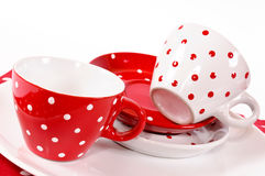 Pair of cups Stock Image