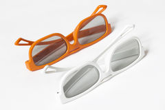 A pair of 3D glasses Royalty Free Stock Photo