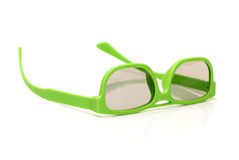 Pair of 3d polarized glasses Royalty Free Stock Photos