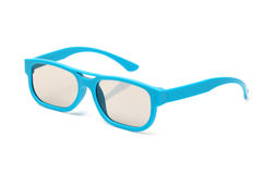 Pair of 3d polarized glasses Royalty Free Stock Images