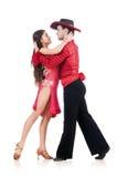 Pair of dancers Royalty Free Stock Image