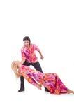 Pair dancing Royalty Free Stock Images