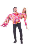 Pair dancing Stock Photography