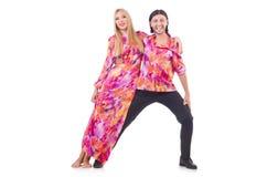 Pair dancing Stock Image