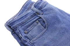 Pair of Denim Jeans Royalty Free Stock Photos