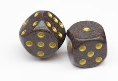 Pair of dice Stock Images