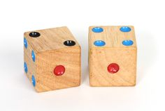 A pair of dice Stock Photos