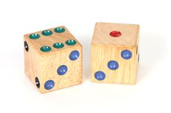 A pair of dice Stock Photography