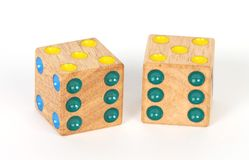 A pair of dice Stock Photo