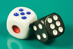 Pair of dice Stock Photography
