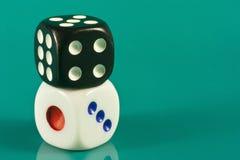 Pair of dice Stock Photo
