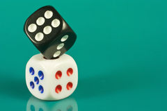 Pair of dice Royalty Free Stock Photos