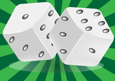 Pair of dice Stock Photos